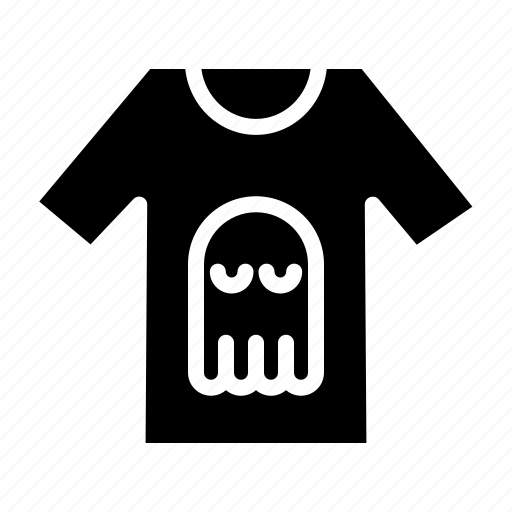 clothes, clothing, dress, fashion, ghost, halloween, shirt icon