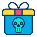 gift, halloween, present icon