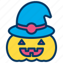 halloween, lantern, pumpkin icon