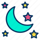 halloween, moon, night, scary icon
