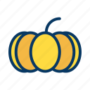 halloween, monster, pumpkin, vegetable icon