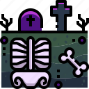 cemetery, cultures, dead, funeral, grave, graveyard, tomb icon
