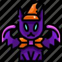 cultures, demon, devil, fear, scary, spooky, terror icon