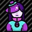 avatar, halloween, people, spooky, terror, woman