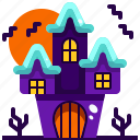 house, castle, halloween, haunted, buildings, fantasy