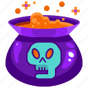container, danger, flask, halloween, liquid, poison, potion