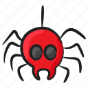 arachnid, decorative spider, easter spider, halloween spider, insect, scary spider icon