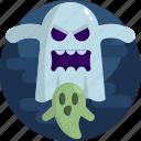 dark, bad, good, halloween, creepy, ghost, night icon