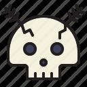 death, ghost, halloween, horror, scary, skull, spooky