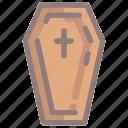 coffin, dead, death, halloween, horror, spooky