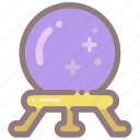 ball, future, halloween, psychic, crystal ball, fortune