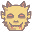 bloody, evil, halloween, monster, scary, spooky icon