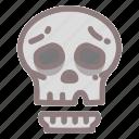 dead, death, halloween, horror, scary, skull, spooky