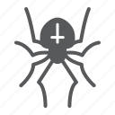 arachnid, halloween, horror, insect, scary, spider icon