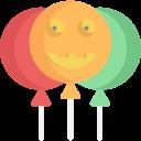 balloon, balloons, celebration, decoration, halloween, party icon