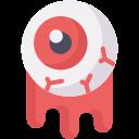 blood, eye, eyeball, halloween, scared, spooky