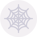 cobweb, entomology, halloween, insect, spider web, trap icon