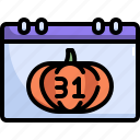calendar, date, halloween, horror, scary, schedule, spooky