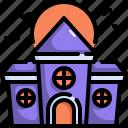 castle, halloween, haunted house, horror, house, scary, spooky