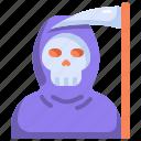 scary, reaper, halloween, horror, spooky, grim, creepy