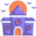 scary, halloween, castle, horror, spooky, haunted house