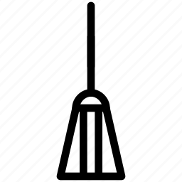 accessory, broom, brush, celebration, cleaning, costume, creative, dark, evil, grid, halloween, line, monster, mop, parties, scary, shape, spooky, sweep, witch icon