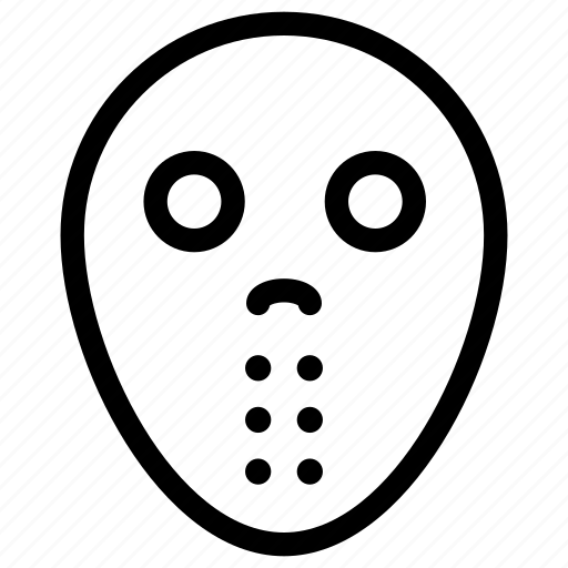 avatar, celebration, costume, creative, dark, dead, evil, ghost, grid, halloween, horror, line, mask, monster, parties, person, scary, shape, spooky icon