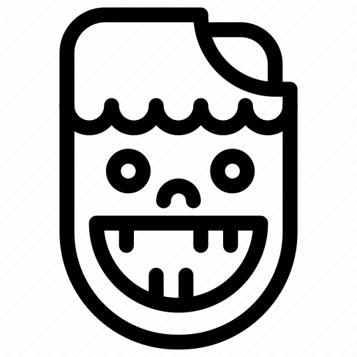 avatar, celebration, corpse, costume, creative, dark, dead, decay, evil, fun, grid, halloween, line, monster, parties, people, scary, shape, spooky, trick-or-treat, walking-dead, zombie, zombies icon