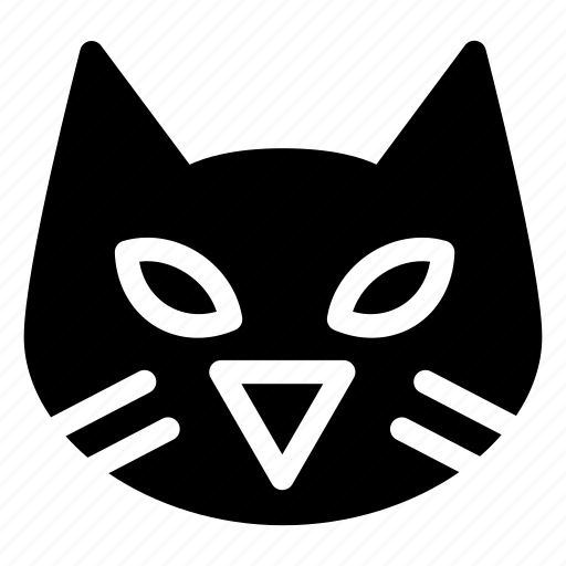 animal, black-cat, cat, celebration, costume, creative, dark, evil, grid, halloween, monster, parties, pet, scary, shape, spooky, witch icon