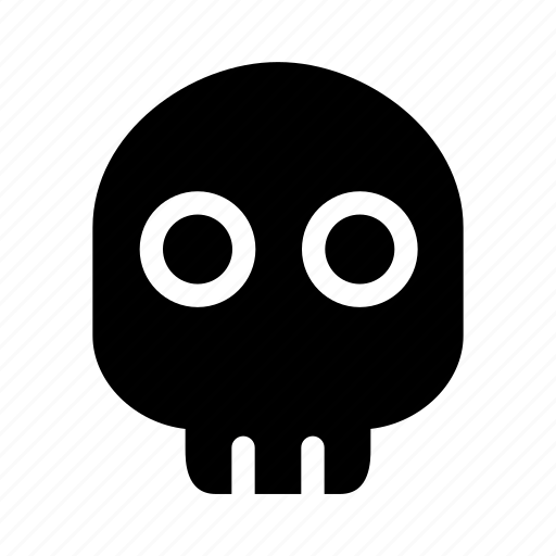 celebration, costume, creative, danger, dark, dead, death, evil, fun, grid, halloween, head, monster, parties, scary, shape, sign, skeleton, skull, spooky, tattoo, trick-or-treat icon
