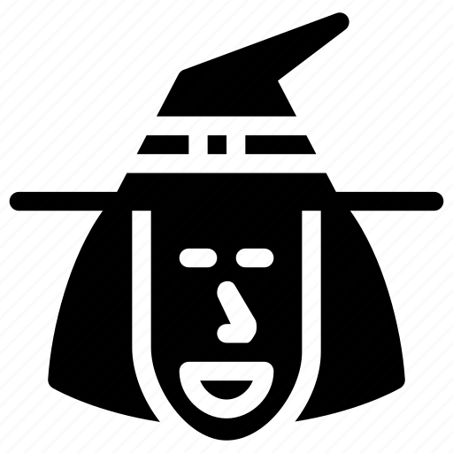 celebration, costume, creative, dark, evil, fun, grid, halloween, hat, magic, monster, parties, people, person, scary, shape, spell, spooky, trick-or-treat, wand, witch, witch-hat, wizard icon