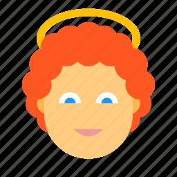 angel, halloween, heaven icon