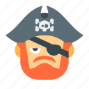 danger, evil, halloween, horror, pirate, scary, skull icon