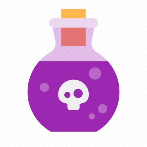 dead, death, halloween, poison, scary, skull, spooky, toxic icon