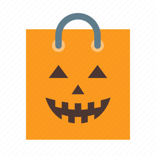 bag, candies, halloween, horror, or, treat, trick icon