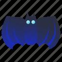 bat, halloween, holiday, scary