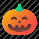 halloween, jack, lantern, laughing, o, pumpkin