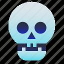 creepy, dead, halloween, skull