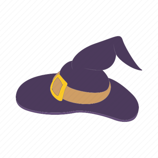 cartoon, costume, halloween, hat, october, witch icon