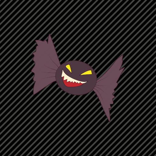animal, bat, cartoon, ghost, halloween, scarecrow, wing icon