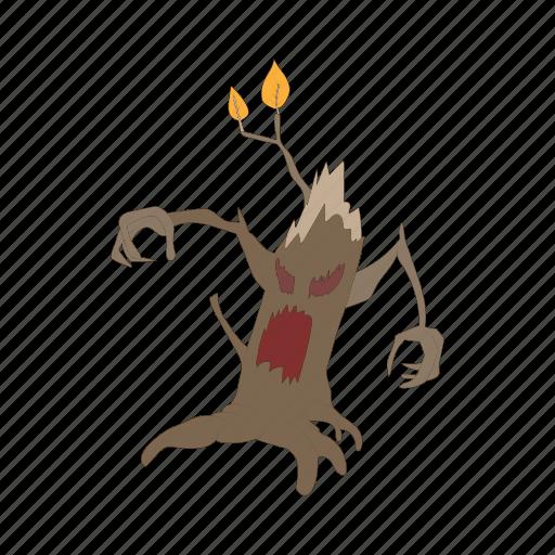 cartoon vector, dark, halloween, horror, scary, spooky, tree icon