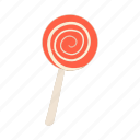 candy, cartoon, dessert, halloween, red, sugar, sweet icon