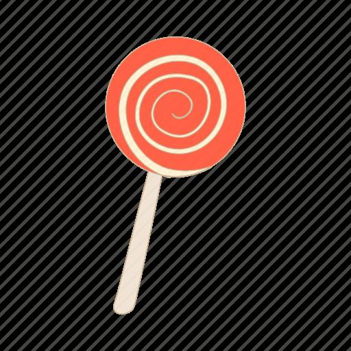 Candy, cartoon, dessert, halloween, red, sugar, sweet icon - Download on Iconfinder