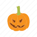 autumn, cartoon, halloween, lantern, orange, pumpkin icon