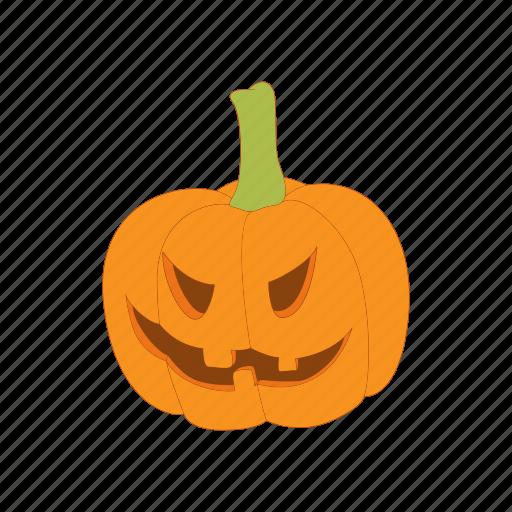 autumn, cartoon, halloween, lantern, orange, pumpkin icon