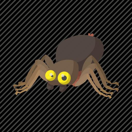arachnid, cartoon, halloween, horror, insect, nature, spider icon