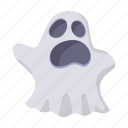 cartoon, costume, ghost, halloween, holiday, horror, spooky icon
