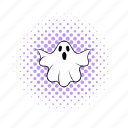 comics, costume, fun, ghost, halloween, holiday, spooky icon