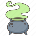cauldron, halloween, magic, pot, potion, witch, witchcraft