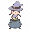 cauldron, halloween, magic, pot, potion, witch, witchcraft icon